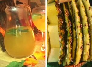 Hızlı Zayıflatan Mucize, Ananas Kabuğu Çayı